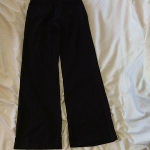 Club Monaco black cuffed pants Sz0